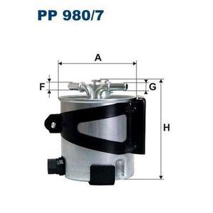 FILTRE A CARBURANT FILTRON Filtre à carburant PP980/7