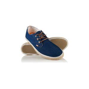 BASKET Chaussures Superdry Skipper Raw Denim