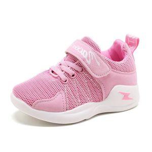 e2fd1b5fefa6 Baskets Chaussures de sport pour enfants Garçon maillot de tennis respirant  garçons et filles Chaussures de course