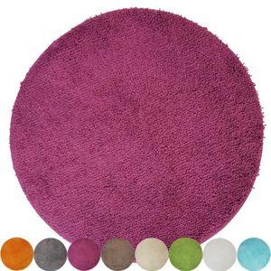 tapis de salle de bain rond achat vente pas cher. Black Bedroom Furniture Sets. Home Design Ideas