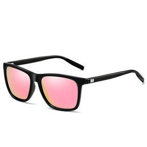 LUNETTES DE SOLEIL Hommes lunettes de soleil polarisées UV400 cadre d 355d1540a752