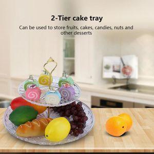 ASSIETTE 2 tiers Plateau à  fruits- gâteau pour decoration