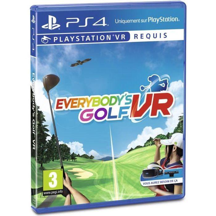 JEU PS VR NOUVEAUTÉ Everybody's Golf PS VR Jeu VR