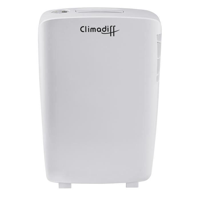CLIMADIFF Déshumidificateur d'air Dhu11E 330 W