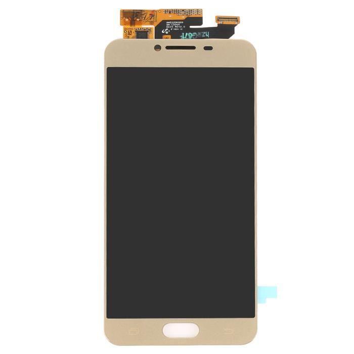 ECRAN DE TÉLÉPHONE Novatech OR - Pour Samsung Galaxy C5 C5000 5.2 Pou
