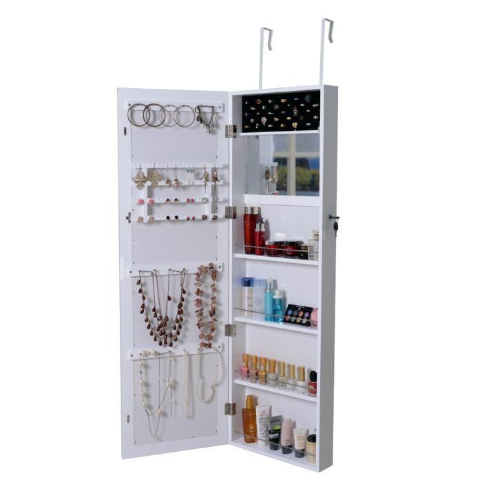grande armoire bijoux mural armoire avec miroir cabinet. Black Bedroom Furniture Sets. Home Design Ideas