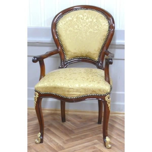 Chaise Baroque Fauteuil Louis XV MoBd0762Luster1