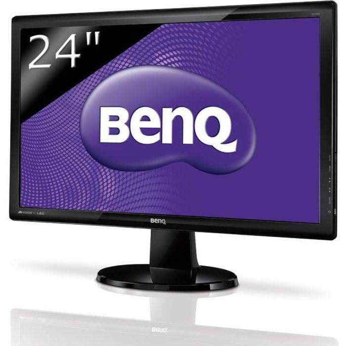 benq gl2450 ecran led 24 39 39 prix pas cher cdiscount. Black Bedroom Furniture Sets. Home Design Ideas