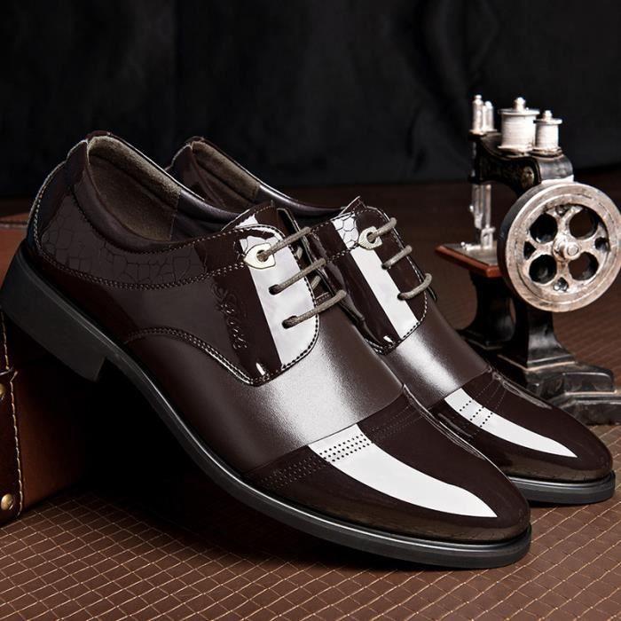 2016 Automne Chaussures Pour Hommes en Cuir de ...