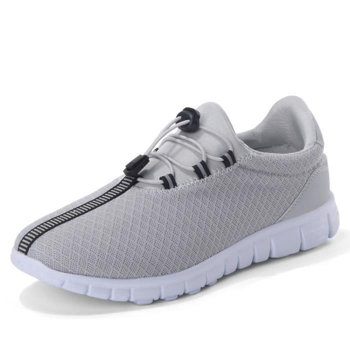 Basket Hommes Meilleure Qualité Durable Classique Chaussure Mode Doux Léger Baskets Antidérapant Respirant Confortable Taille 40-47 hdghsJ99