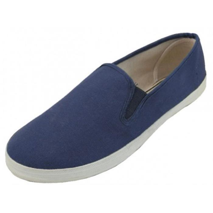 Chaussures de toile Mens | Chaussures de toile pour Glissement Sneakers AZN0U Taille-42