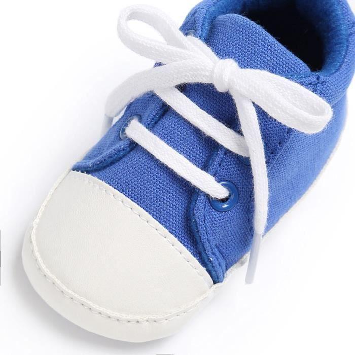 BOTTE Chaussures bébé garçon fille nouveau-né crèche chaussures à semelle souple@BleuHM wDTU6MbH