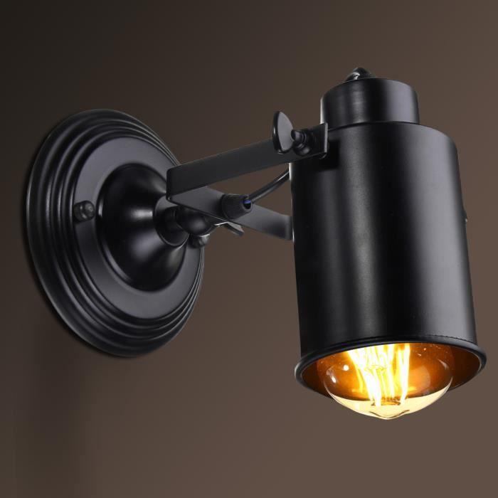 E27 Petite Birdcage Applique Murale Vintage AmpouleNeufu Lavent Loft Industrialsans tshdCQr