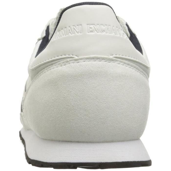 A|x Armani Exchange Courir Retro Sneaker Sneaker Fashion E18J2 Taille-39 3JfxXY