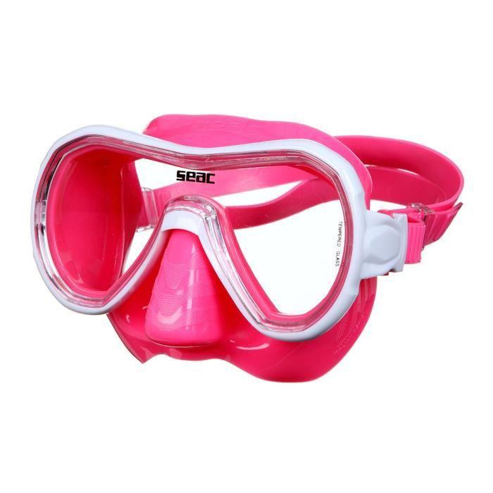 SEAC Masque de Plongée Panarea Silter - Rose