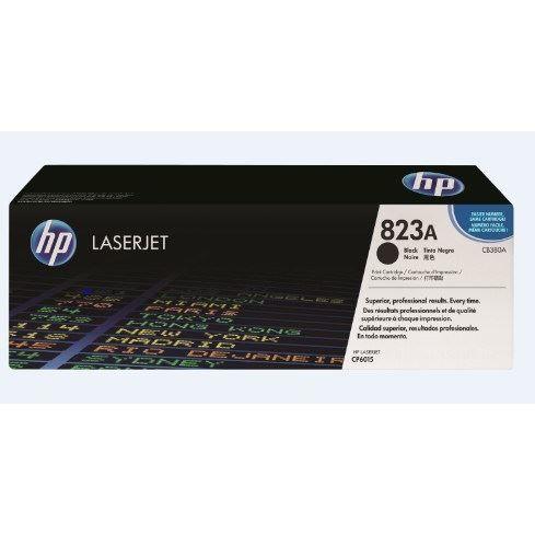 HP Cartouche de toner 823A Colour LaserJet original - Capacité standard 16.500 pages - Pack de 1 - Noir