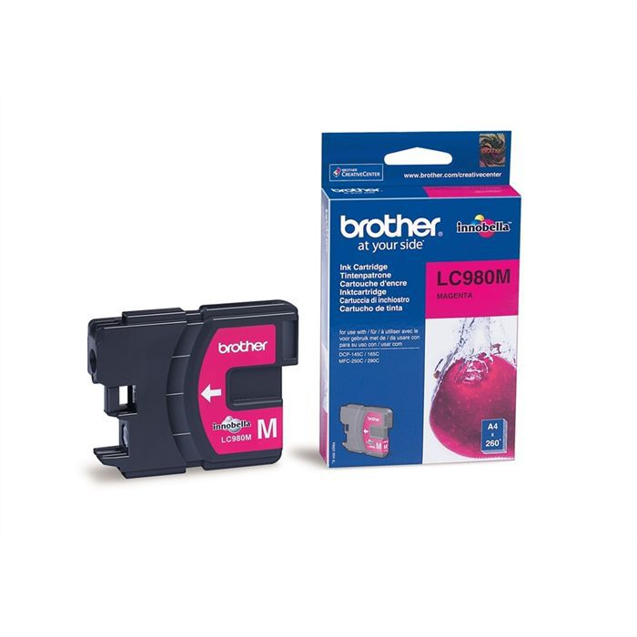Brother LC980M Cartouche d'encre Magenta