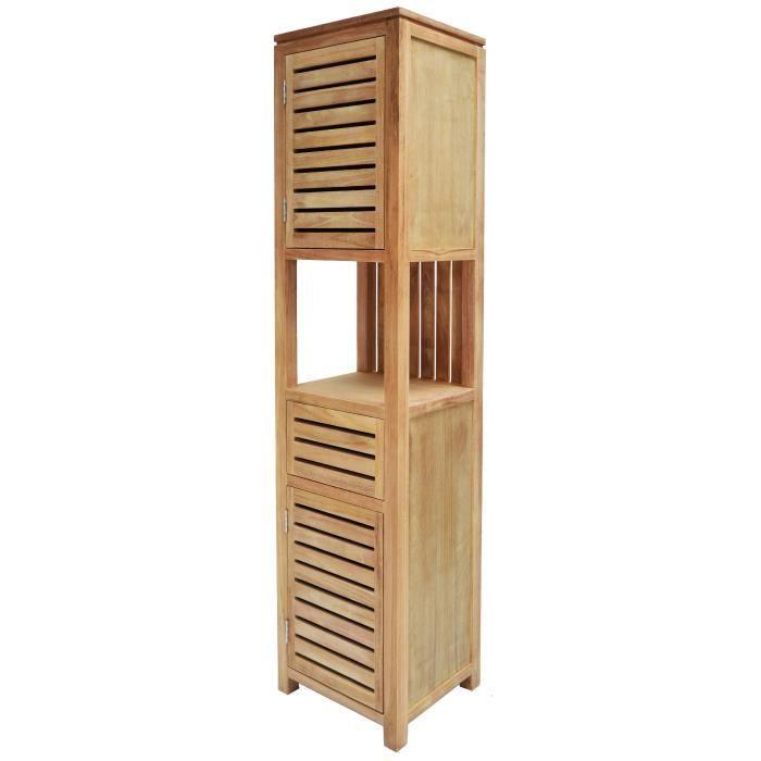 colonne de salle de bain en bois stunning meuble salle de bain en bois ides darmoires meuble. Black Bedroom Furniture Sets. Home Design Ideas