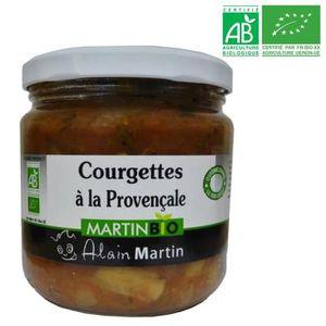 CONSERVE AUTRES LÉGUMES Courgettes à la Provençale BIO 380G