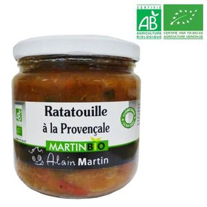 CONSERVE AUTRES LÉGUMES Ratatouilles à la Provençale BIO 380G