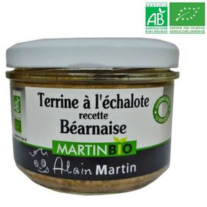 PATÉ - TERRINE Terrine à l'Echalote BIO 180G