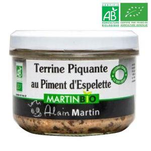 PATÉ - TERRINE Terrine Piquante BIO 180G