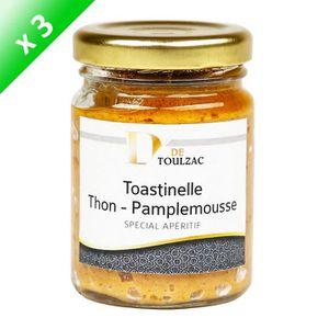PESTO LOT DE 3 D de TOULZAC Toastinelle Thon Pamplemouss