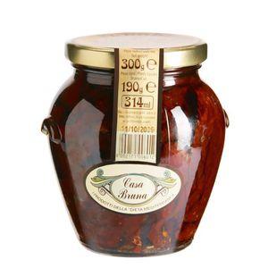 TOMATE CASA BRUNA Tomates séchées A H.O. et aux herbes -