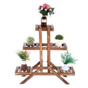 PORTE-PLANTE Etagere/Support à plantes en bois, Porte-Pot de Pl