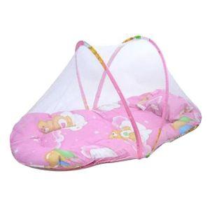 MOUSTIQUAIRE DE LIT Lit bébé moustique coussin pliant portable matelas