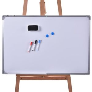 MEUBLE INFORMATIQUE Tableau blanc magnétique inscriptible effaçable 90