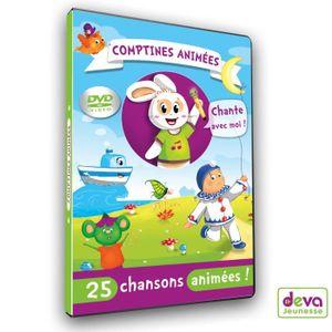 DVD INTÉRACTIF Comptines animées  Le Dvd