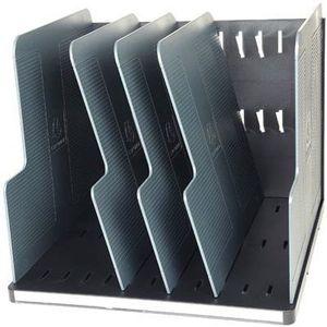 PORTE COURRIER - BAC EXACOMPTA - Trieur modulotop 5 séparateurs noir...