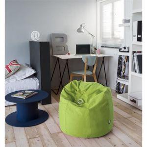 POUF - POIRE Poire pouf Hanko 100% coton 79x100 cm vert