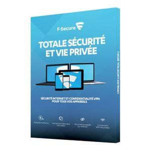ANTIVIRUS F Secure Pack Total - ATTACH FREEDOME+ SAFE - Sécu