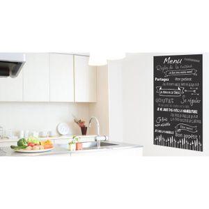 stickers regles de la cuisine achat vente pas cher. Black Bedroom Furniture Sets. Home Design Ideas