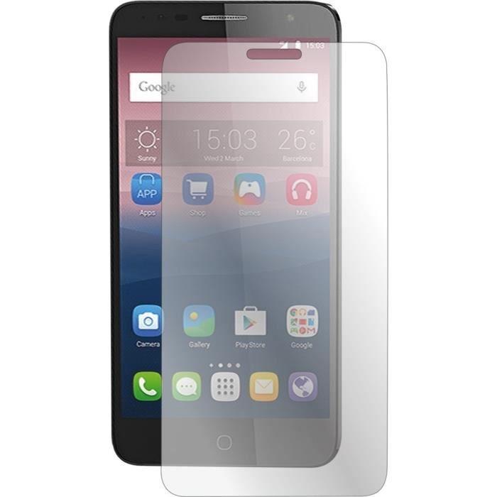 BIGBEN Protège-écran en verre trempé pour Alcatel Pop 4