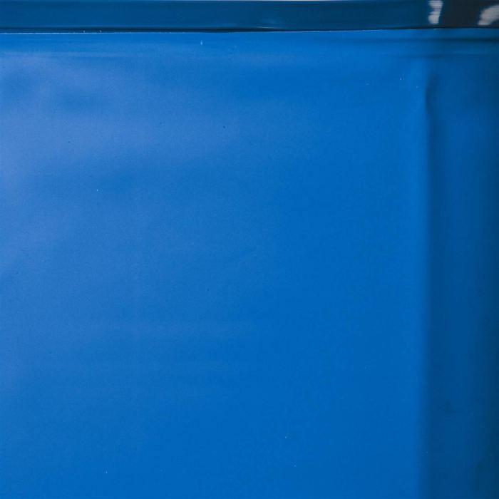 GRE Liner pour piscine ovale 810 x470 cm h 120 cm - Bleu