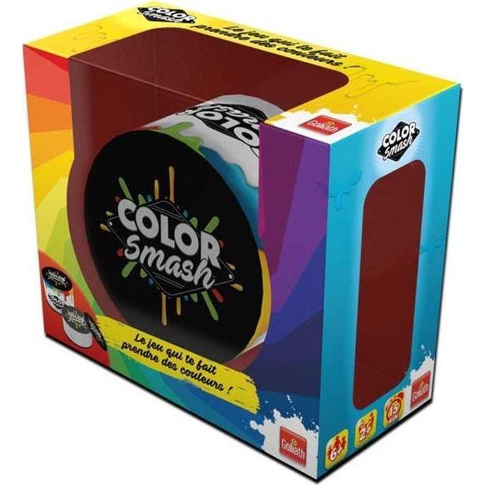 GOLIATH Color Smash - Garçon et Fille - à partir de 6 ans - Livré à l'unitéCARTE A COLLECTIONNER - PORTE-CARTE A COLLECTIONNER - CAHIER RANGE-CARTE - ACCESSOIRE CARTE A COLLECTIONNER
