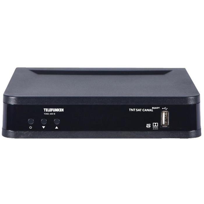 TELEFUNKEN 101810 Récepteur satellite TNT SAT