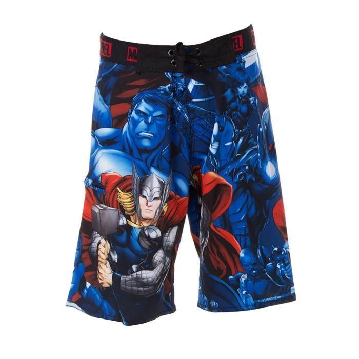FREEGUN - Boardshort Long Avengers Marvel pour Garçon