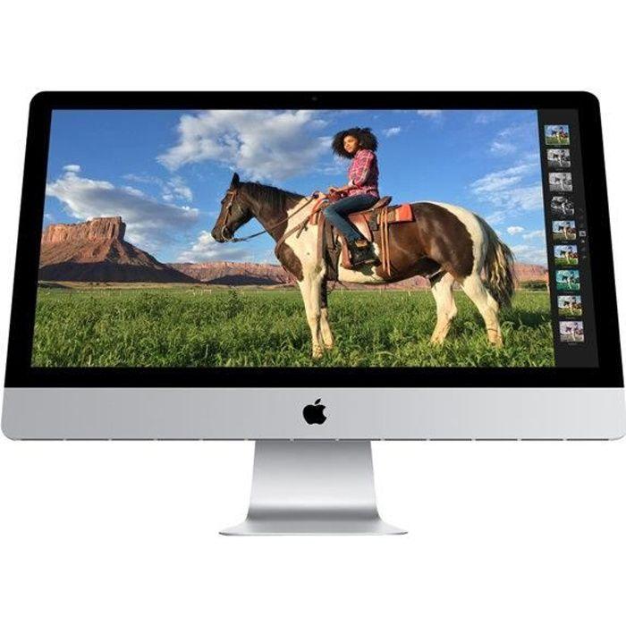 ORDINATEUR TOUT-EN-UN Apple iMac i7 3,5Ghz 16Go/1To Fusion Drive 27'
