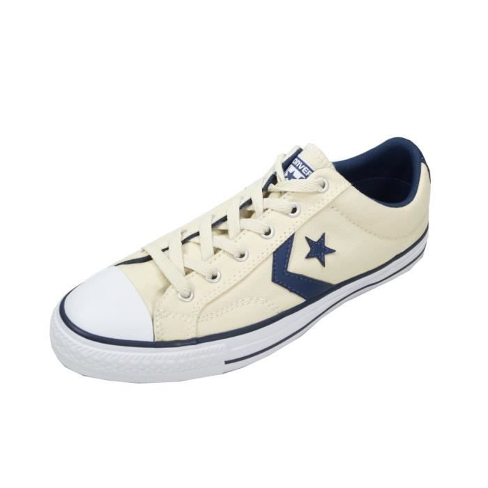 Converse - Converse Chaussures Homme Star Player Ox Beige 156620C Sneakers 42.5 Réf 56502 pKUaq0