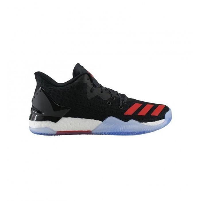 Chaussure D 7 Pour Basketball De Adidas Low Homme Noir Rose F1KJT5luc3
