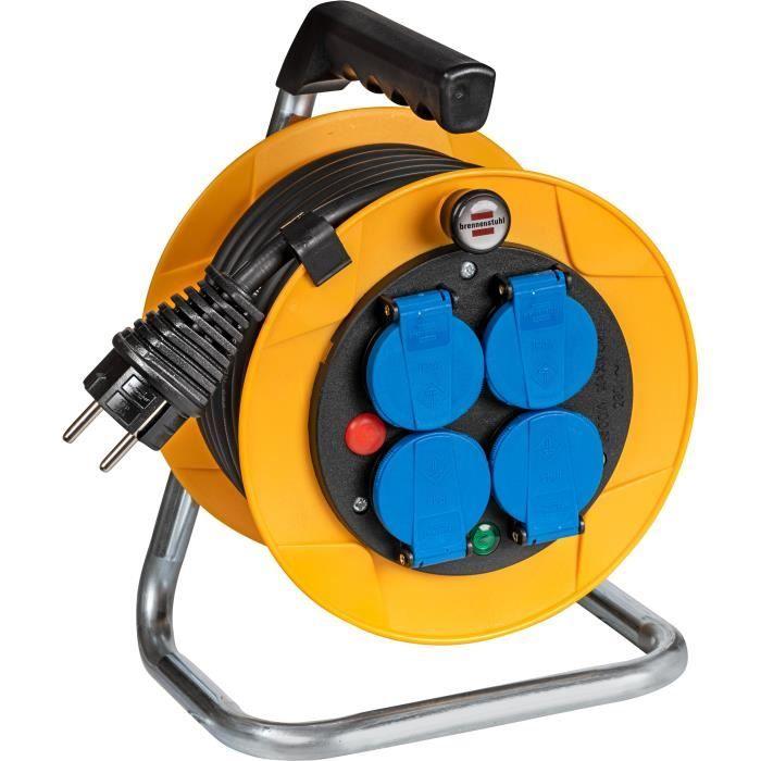 ENROULEUR Enrouleur, rallonge électrique pour tondeuse de …