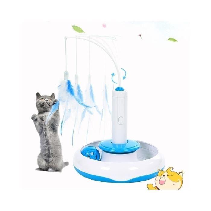 Jouet Pour Animaux Pet Supplies Jouets Les Chats Électrique Rotating 360 Degrés Plume Interactive Toy Drôle De Chat Bâton Taille: 18