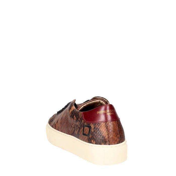 D.a.t.e. Sneakers Femme Marron, 36