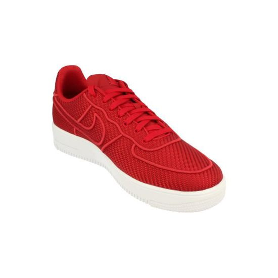 online store 8a6b6 23414 Nike Air Force 1 Ultraforce LV8 Hommes Trainers 864015 Sneakers Chaussures  600 Rouge Rouge - Achat   Vente basket - Cdiscount
