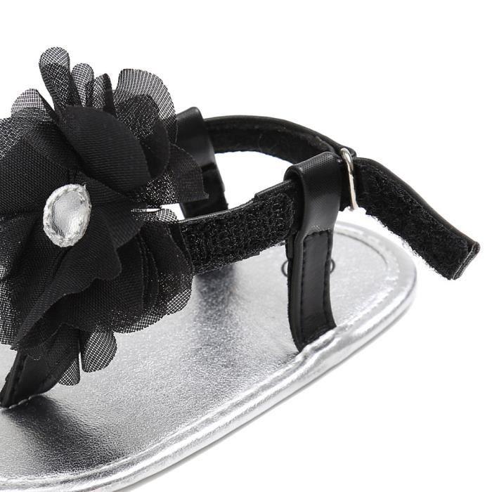 sandales Toddlers filles bébé âge en bas enfant NoirHM mignon chaussures été Mode enfants BOTTE sandales qzwAff