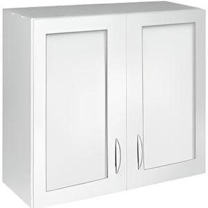 Meuble haut cuisine vitree achat vente meuble haut cuisine vitree pas cher cdiscount for Portes elements cuisine